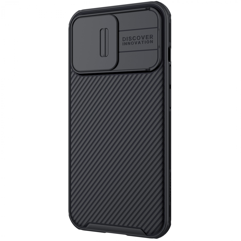 Zadní kryt Nillkin CamShield Pro Magnetic pro Apple iPhone 13, černá