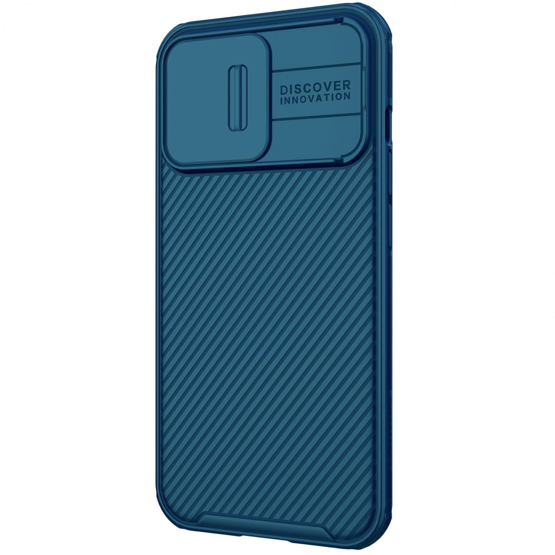 Zadní kryt Nillkin CamShield Pro Magnetic pro Apple iPhone 13 mini, modrá