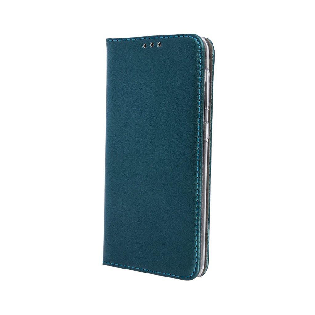 Flipové pouzdro Cu-be Platinum Xiaomi Poco M3 Pro/M3 Pro 5G/Redmi Note 10 5G, tmavě zelená