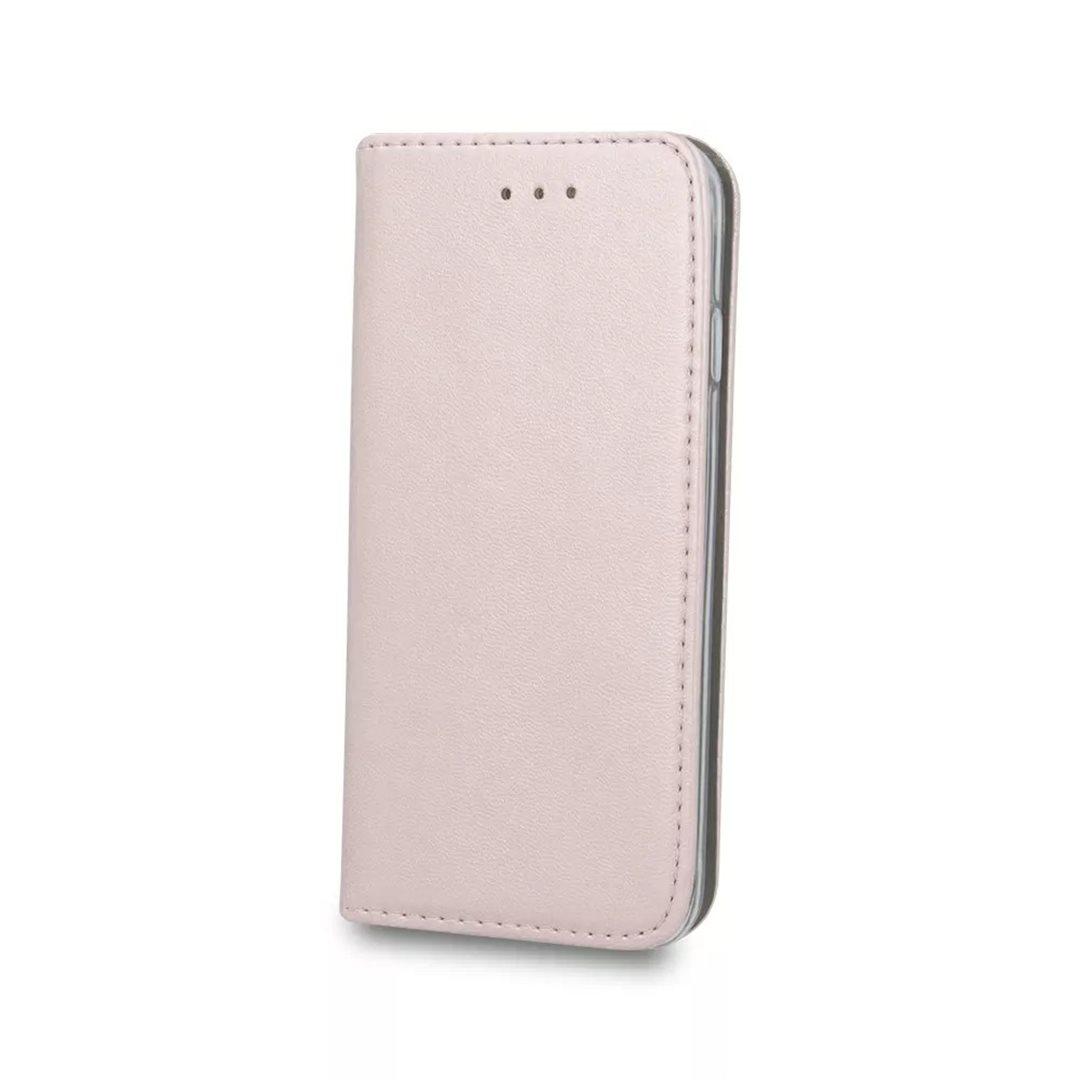 Flipové pouzdro Cu-be Platinum pro Samsung Galaxy A32, růžová/zlatá