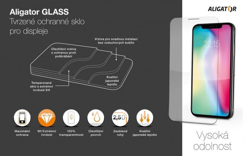 Ochranné tvrzené sklo ALIGATOR pro Motorola G60