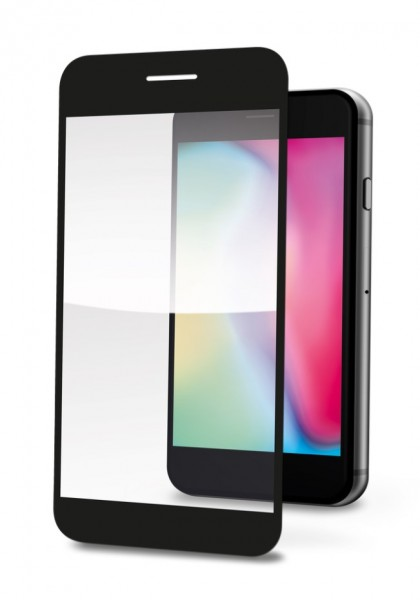 Ochranné tvrzené sklo ALIGATOR PRINT pro Xiaomi Redmi Note 9T 5G, černá