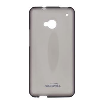 Kisswill silikonové pouzdro, obal, kryt, futrál  Samsung G388 Galaxy Xcover 3 černé