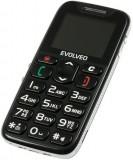 Evolveo EasyPhone Black přední strana