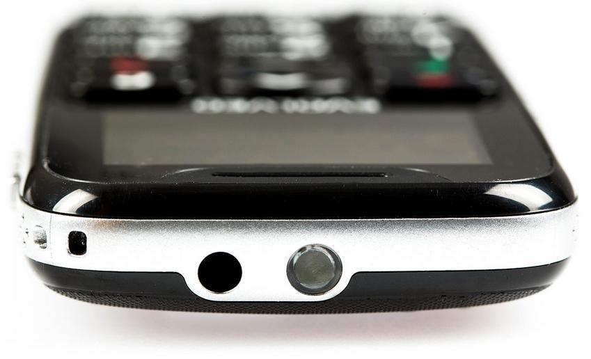 Evolveo EasyPhone Black horní strana