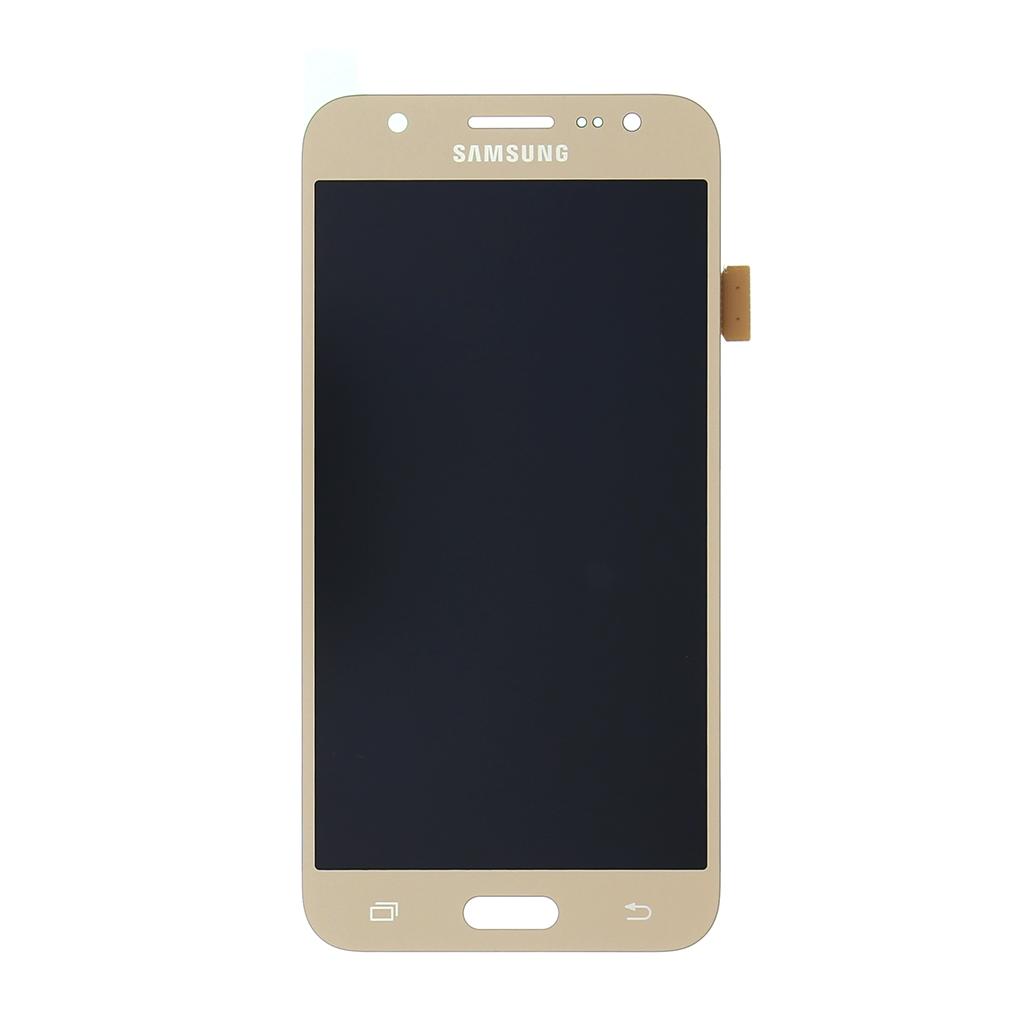 LCD display + Dotyková deska Samsung J500 Galaxy J5 zlatá