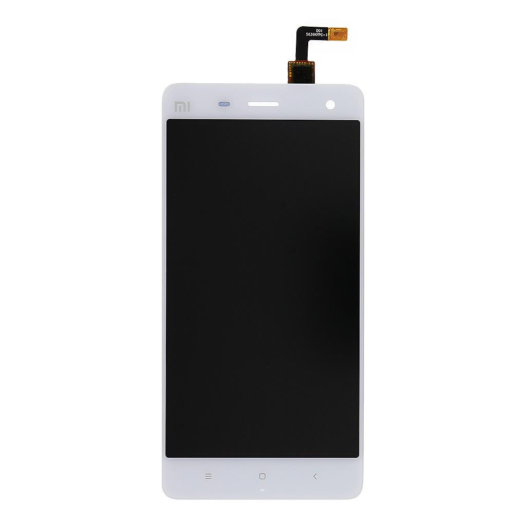 LCD display + dotyková deska pro Xiaomi mi4, bílá