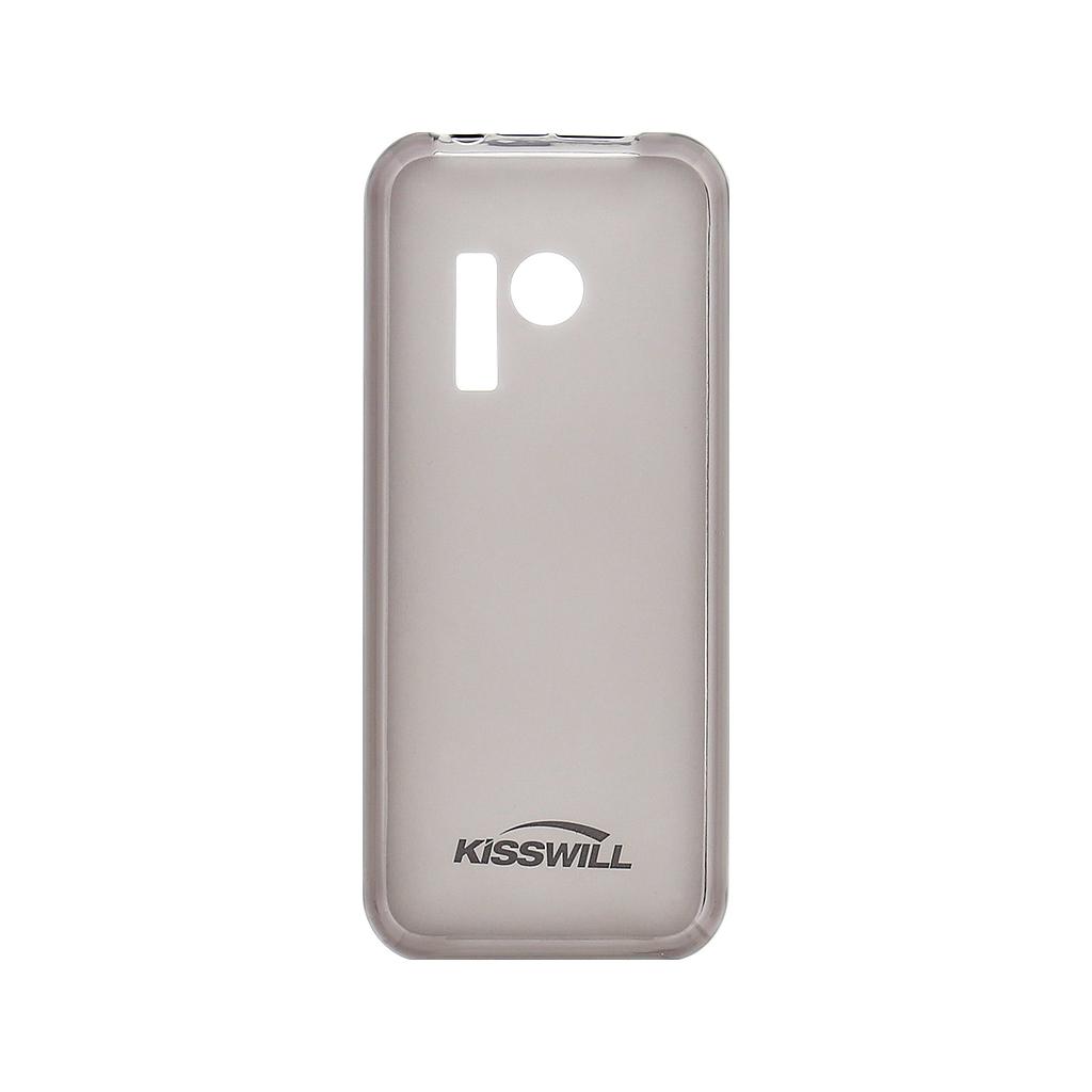 Kisswill silikonové pouzdro pro Nokia 230 černé