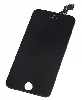 LCD displej + dotyková deska pro Apple iPhone 5c (Tianma AAA Quality), black