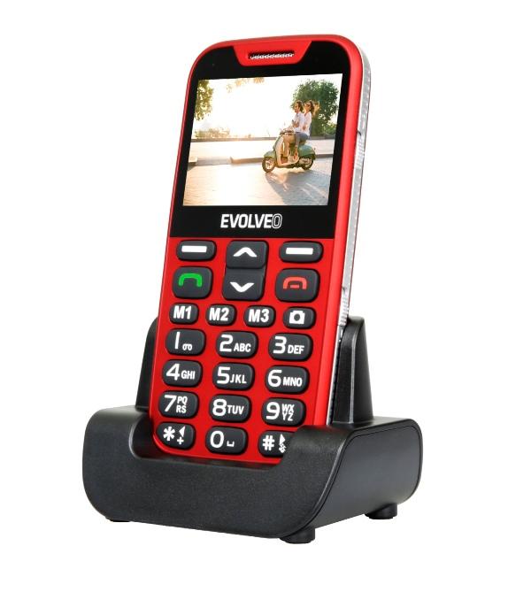 Mobilní telefon Evolveo EasyPhone XD Red