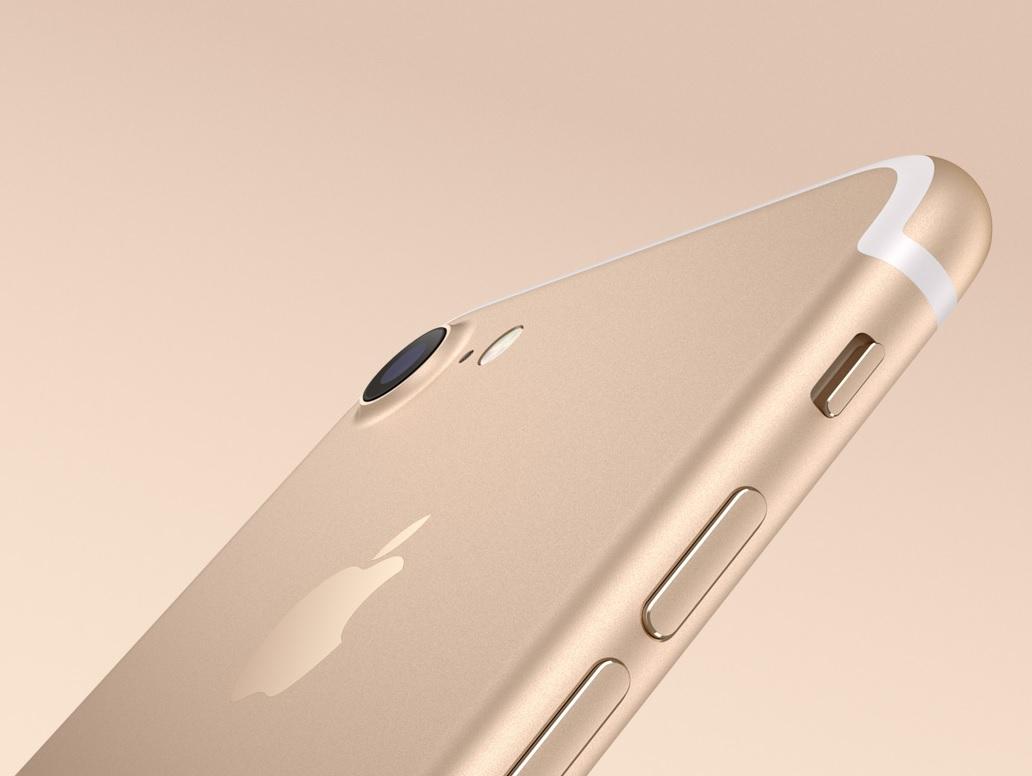 Mobiní telefon iPhone 7 Gold