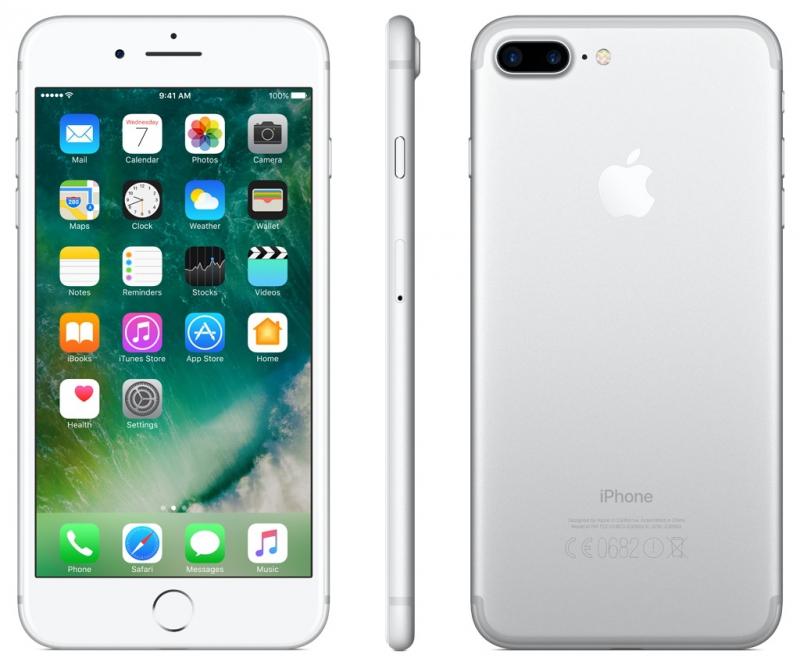 mobilní telefon iPhone 7 Plus Stříbrný