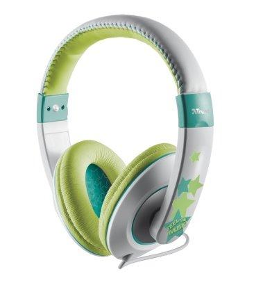 Dětská sluchátka TRUST Sonin Headphone zelené