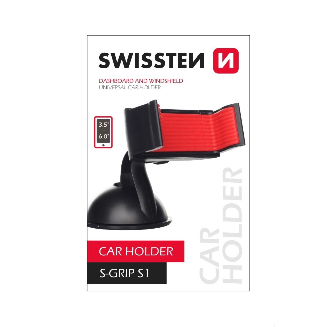 Swissten držiak do auta univerzálny s nano podložkou, S-GRIP S1 (Blister)