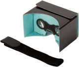 PanoBoard Click Boost, brýle pro virtuální realitu, černo-tyrkysové