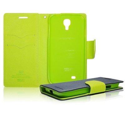 Fancy Diary flipové pouzdro Huawei P10 Lite modré/limetkové