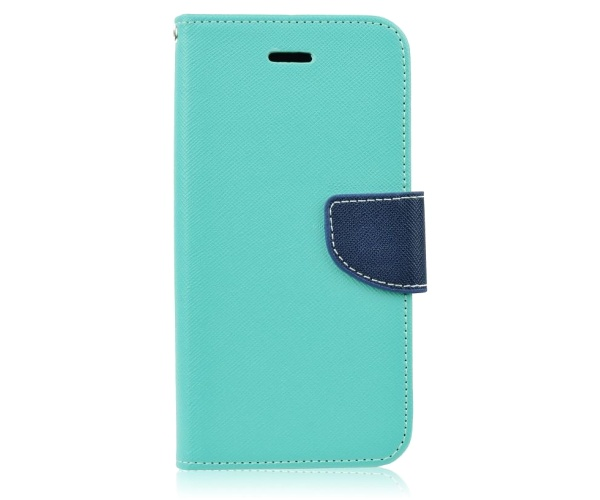 Fancy Diary flipové pouzdro Samsung Galaxy J3 2017 mátovo-modré