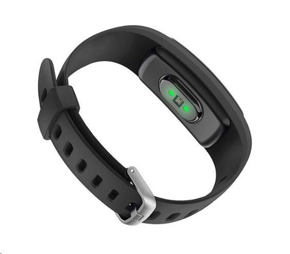 Inteligentní náramek UMAX U-Band 107 Plus HR Black