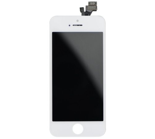 LCD + dotyková deska pro Apple iPhone 5 (High Quality AAA+), White