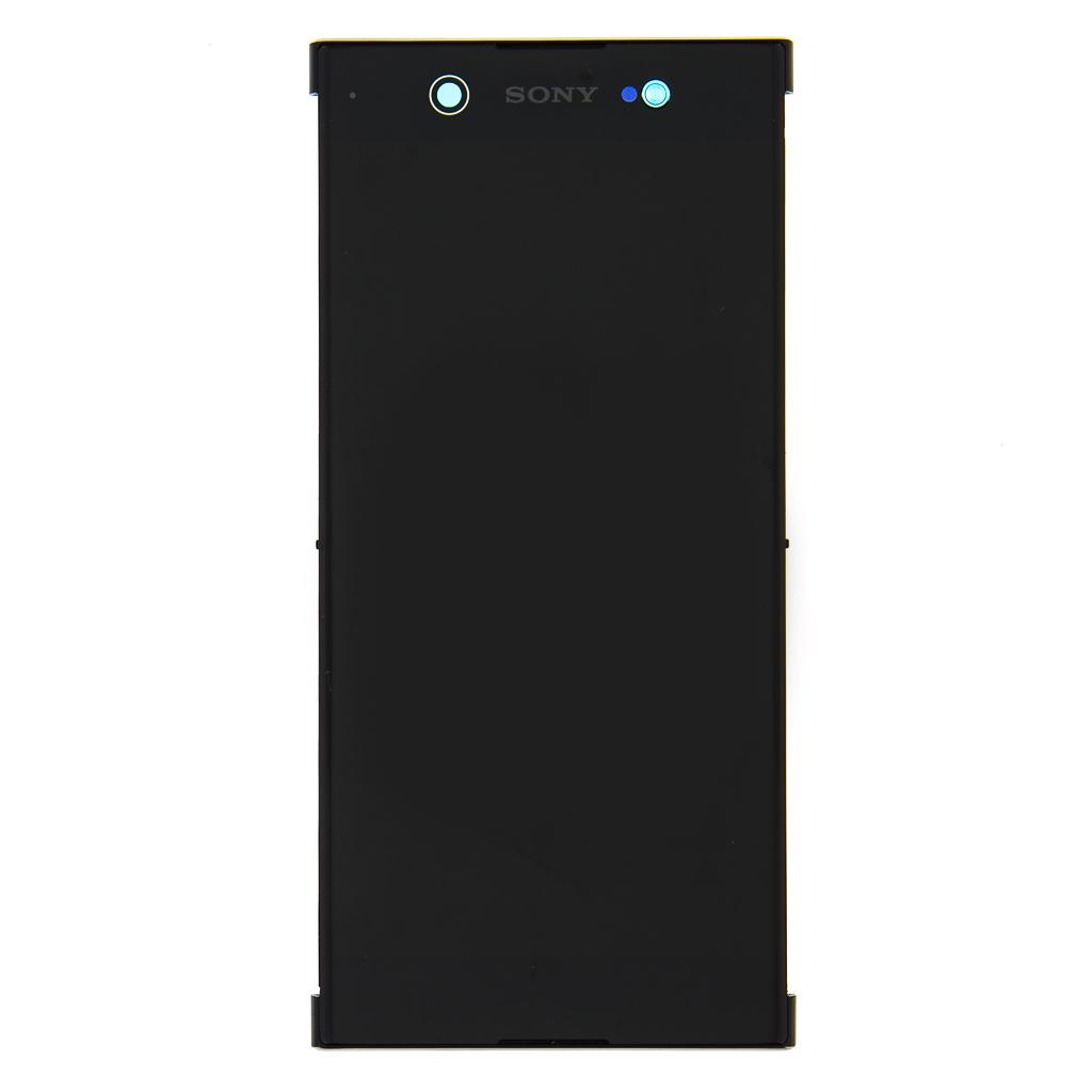 LCD + dotyk+ přední kryt Sony Xperia XA2, silver (Service Pack)