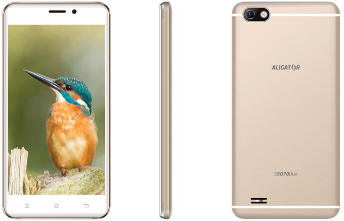 Chytrý telefon Aligator S5070