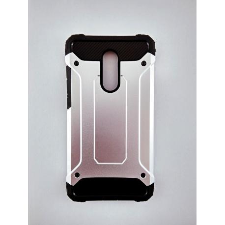 Zadní odolný kryt Armory pro Redmi Note 4, Silver