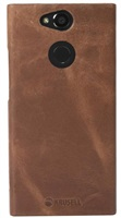 Krusell zadní kryt SUNNE pro Sony Xperia XA2, koňaková