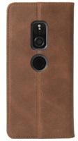 Krusell flip SUNNE 2 Card FolioWallet pro Sony Xperia XZ2, koňaková
