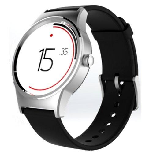 Chytré hodinky Alcatel MoveTime Watch Silver Plate