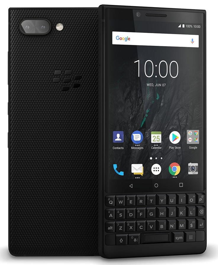 QWERTY smartphone Blackberry KEY2 Athena
