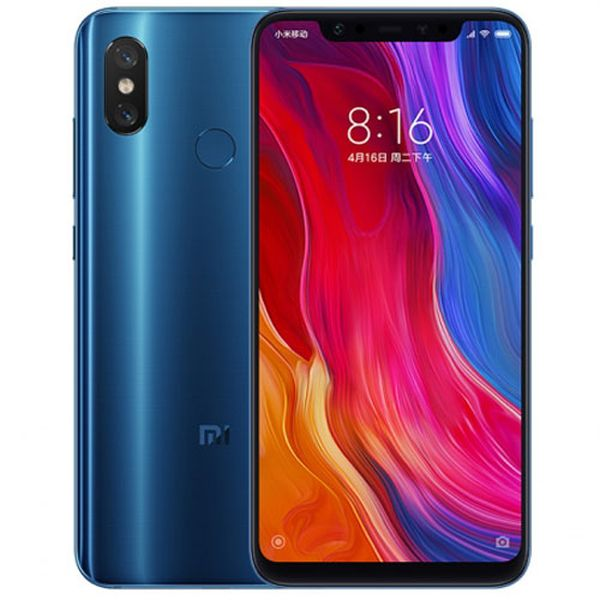 Xiaomi Mi 8 Global 6GB / 64GB modrá