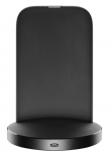 Stojanček pre bezdrôtové nabíjanie CellularLine WIRELESS FAST CHARGER STAND S USB-C, rýchle nabíjanie, Qi štandard, čierny