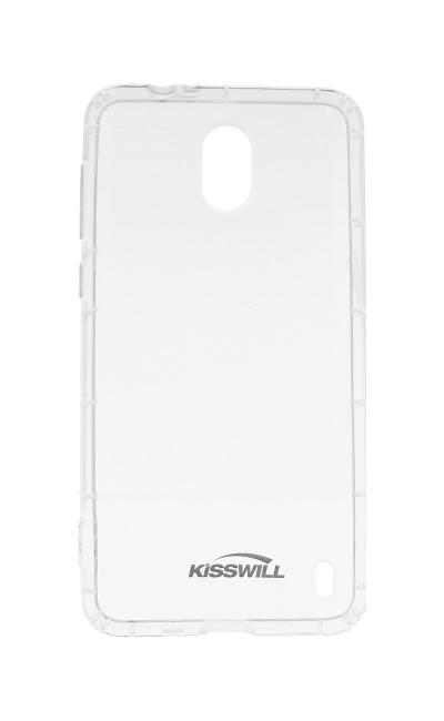 Silikonové pouzdro Kisswill pro Nokia 3.1, transparent