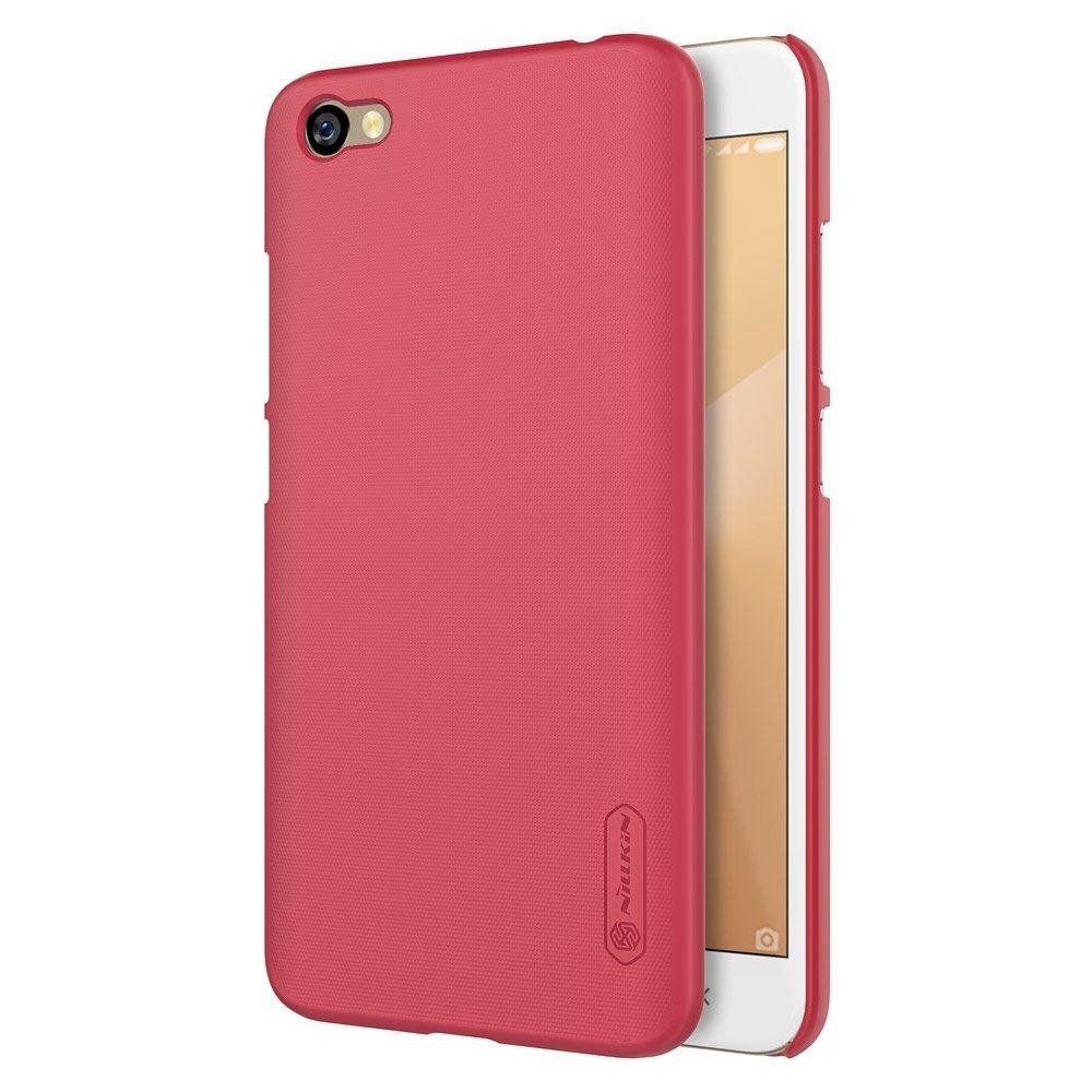 Nillkin Super Frosted kryt + fólie Xiaomi Pocophone F1, red