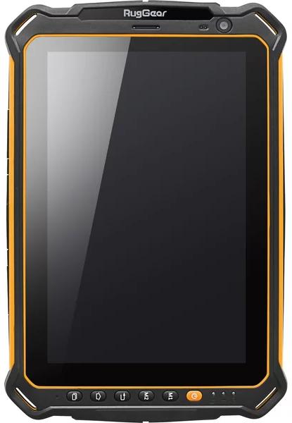 "RugGear RG910 8"" černá/žlutá"