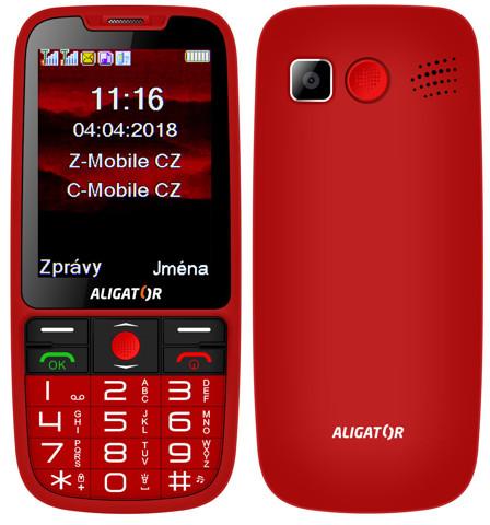 ALIGATOR A890 red back