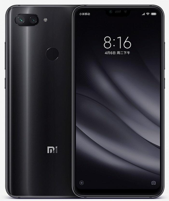 Elegantní telefon Xiaomi Mi 8 Lite
