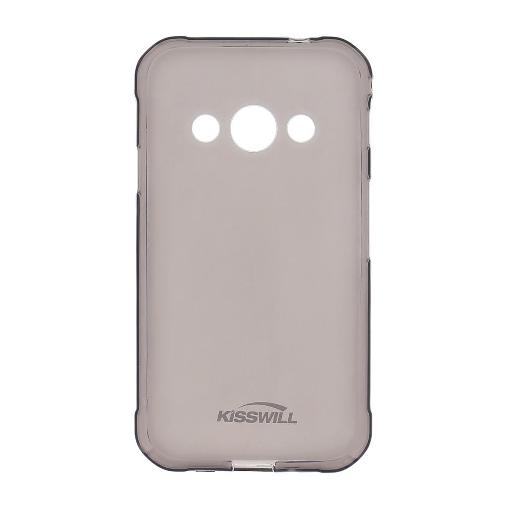 Silikonové pouzdro Kisswill pro Xiaomi Pocopone F1, černé