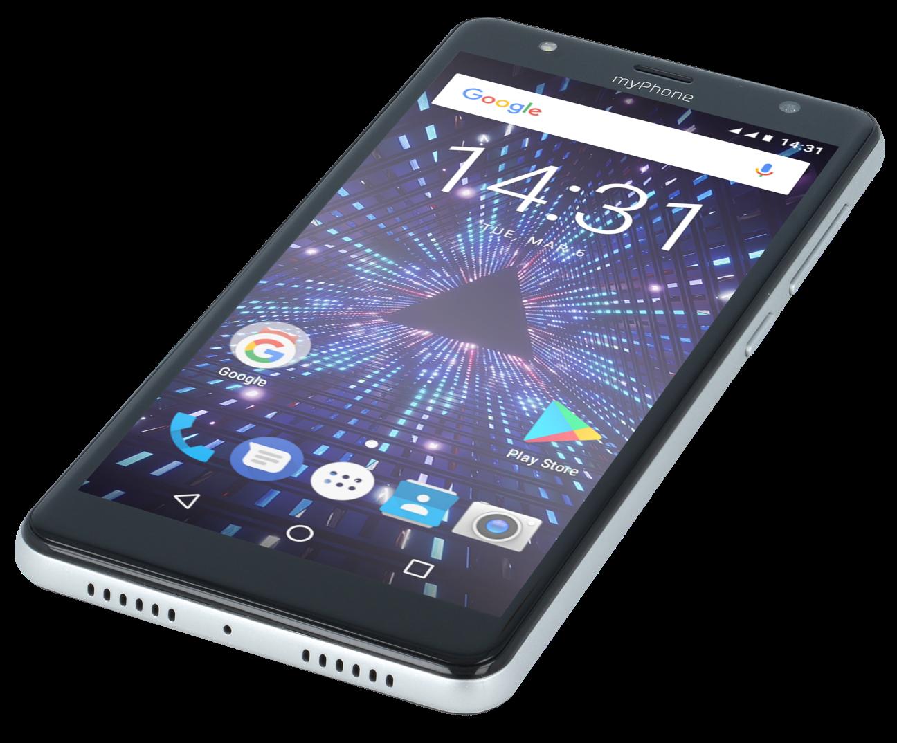 Dotykový telefon myPhone Pocket 18x9