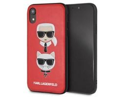 Zadní kryt Karl Lagerfeld Karl&Ch. Hard Case na iPhone XR, Red