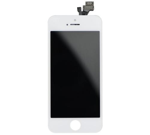 LCD + dotyková deska pro Apple iPhone 5 (OEM-AAA), White