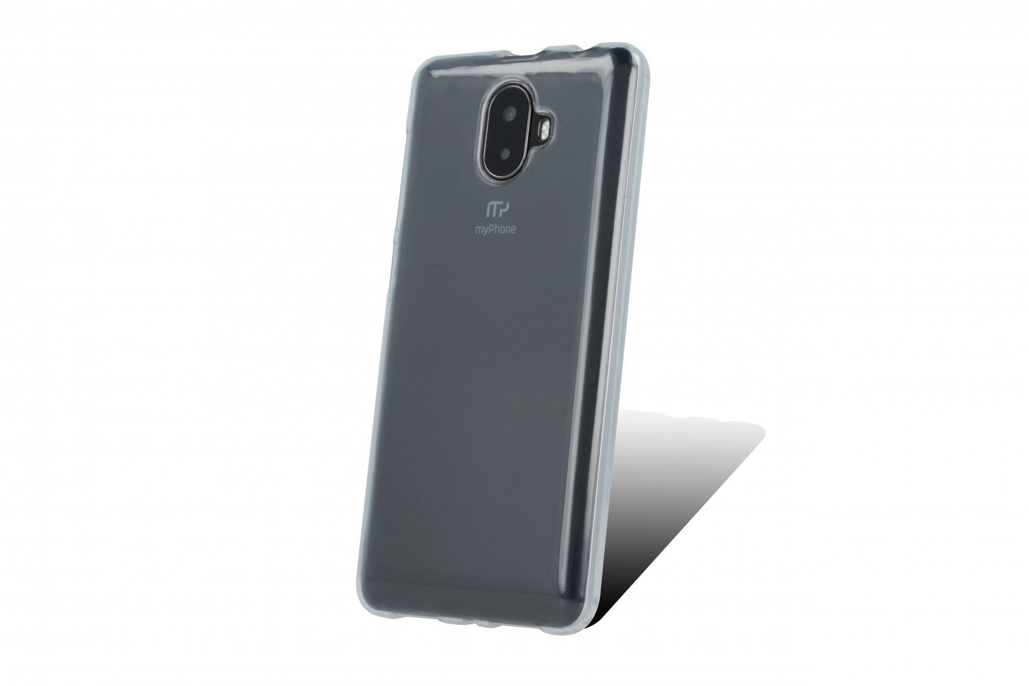 Silikonové TPU pouzdro pro myPhone Pocket 18x9 transparentní