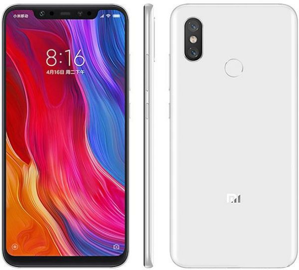 Xiaomi Mi 8 Global 6GB/64GB bílá