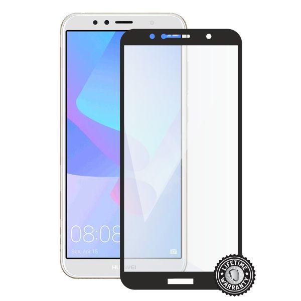 Screenshield tvrzené sklo Huawei Y6 Prime 2018 (full COVER black)