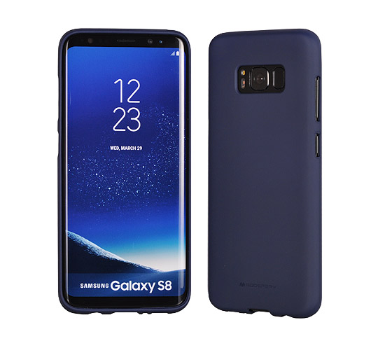 Pouzdro Mercury Soft feeling Huawei Y6 Prime 2018, navy
