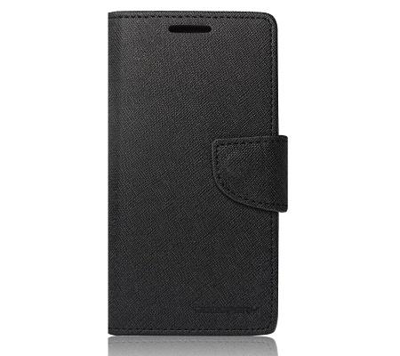 Flipové pouzdro Fancy Diary pro Huawei P smart 2019, černá