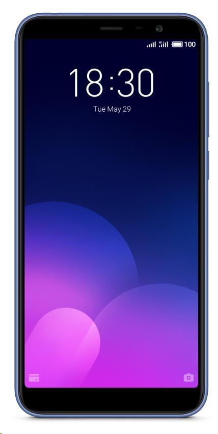MEIZU M6T 3GB/32GB modrá