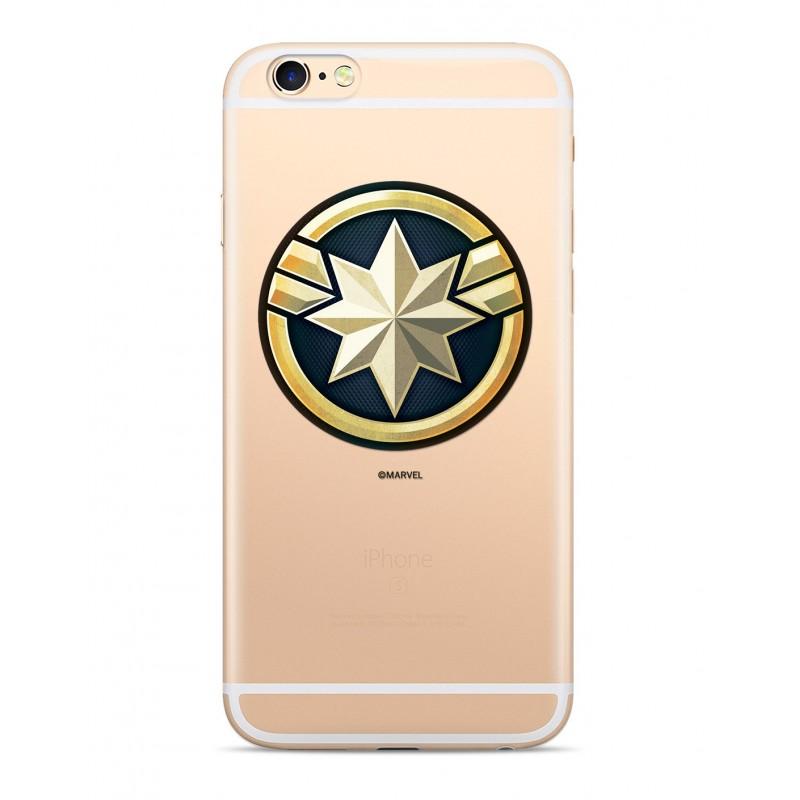Zadní kryt Captain Marvel 016 pro Samsung Galaxy S10+, transparent