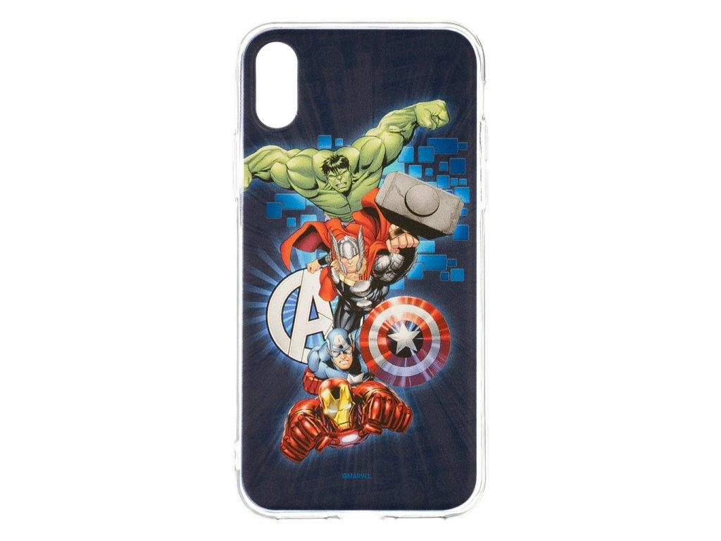 Zadní kryt Marvel Avengers 001 pro Samsung Galaxy S10+, dark blue