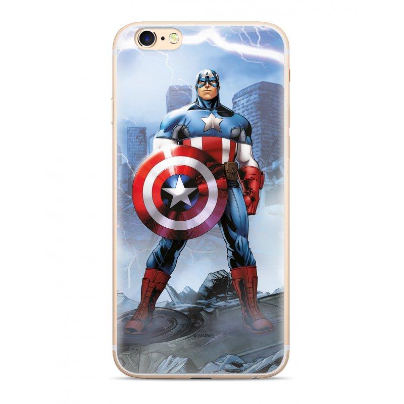 Zadní kryt Marvel Captain America 003 pro Samsung Galaxy S10+, blue